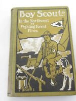 Vintage Boy Scouts In the Northwest or Fighting Forest Fires 1912