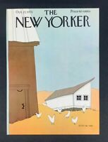 The New Yorker Magazine, October 27, 1975 ~ Simpson ~ COVER ONLY