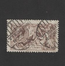 Great Britain SC172 George V Sea horses 1919 Used
