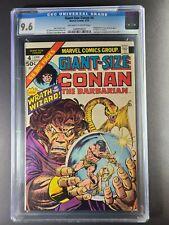 GIANT-SIZE CONAN #4 CGC 9.6 Gil Kane cover & art!