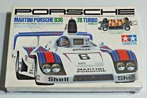 Tamiya Martini Porsche 93678 Turbo 1/24 Sports Car Series No. 12 NEW Sealed