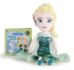 Kohl's Cares Disney's Frozen Welcome Spring Book And Elsa Plush Toy Bundle