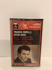 Franco Corelli Opera Arias Cassette Tape EMI Angel Recordings Dolby MX Pro Rare