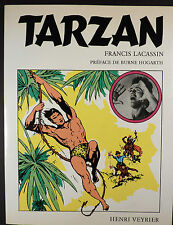 Tarzan F. Lacassin Préface de Burne Hogarth Ed. Veyrier TTBE