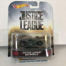 Justice League Batmobile * Batman * Hot Wheels Retro * Hb12