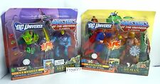 MOTUC, He-Man vs Superman & Lex Luthor vs Skeletor, DC Universe, MOC, figures