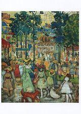 Postcard Maurice B Prendergast The Amusement Park Wadsworth Atheneum MINT