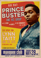 PRINCE BUSTER POSTER LONDON MARQUEE CLUB 1967