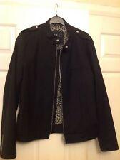 Zara man beat collection black jacket, new, size medium