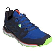 adidas Terrex Agravic Size 11 Trainers Navy Blue Black Green