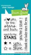 Lawn Fawn Clear Stamps - Lucky Stars #LF514