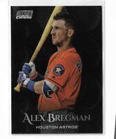 2019 Topps Stadium Club Chrome Parallel SCC-50 Alex Bregman Houston Astros
