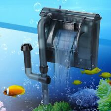 300/400L/H External Hang On Filter Surface Skimmer Waterfall Aquarium Fish Tank