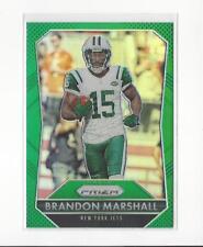 2015 Panini Prizm Prizms Green #15 Brandon Marshall Jets