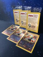 Pokemon 1x Entei 34 Black Star Promo sealed Englisch NM/Mint OVP Neu Reverse