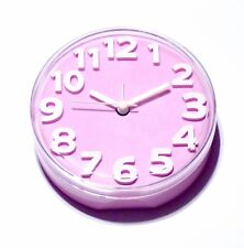 tiq - Baby Pink Alarm Clock Battery Operated Silent Movement