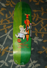 Real Big Baby Trump Skateboard Deck Donald MOAB Henry Sanchez Green Old School