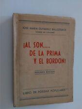 Conde de Colombí , Al son de la prima y el bordon! Libro de poesías populares