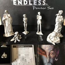 Sandman Endless Pewter Set figurines & The Doll's House TPB Neil Gaiman Vertigo