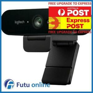 Logitech Brio 4K Ultra HD Webcam HDR 5xHD Zoom Auto Focus Infrared Streaming
