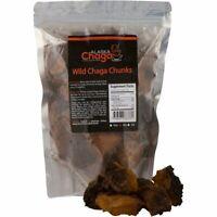 AlaskaChaga Mushroom Chunks - Sustainably Harvested in Alaska, Organic, Non-GMO