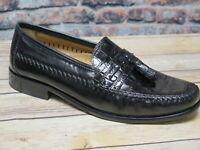 Florsheim Men's Pisa Black Leather Tassel Loafer        *18469-01