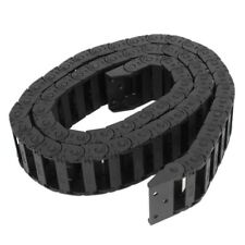 100 cm R3.5cm plastic open type wire energy chain drag chain 10mm x 30mm W9I8