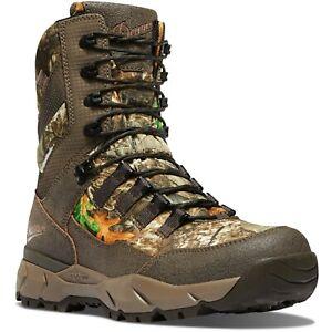 "Danner Men's 41559 Vital 8"" Realtree Edge Waterproof Camo Shoes Hunting Boots"
