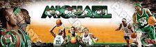 Custom Name Design NBA Basketball Boston Celtics Personalized Name Poster