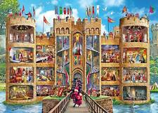 Gibsons Castle Cutaway Jigsaw Puzzle (1000 Pieces)