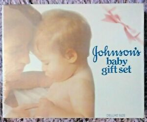 vtg new/sealed JOHNSON'S BABY GIFT SET deluxe edition - NOS - 381370034322 ░░ F1