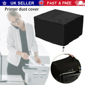 Printer Dust Cover Printer Protective Cover Black Polyester Copier Dust Cover UK