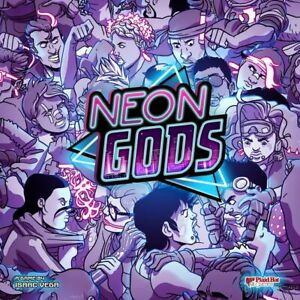 Neon Gods Board Game by Plaid Hat Games