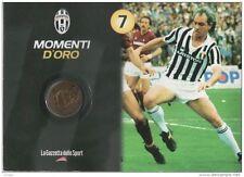 Medaglie Momenti d'oro Juventus - Dal numero 1 al numero 34