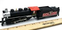 Bachmann Monopoly HO Scale Train Steam Locomotive w/Smoke w/Light Unit TESTED