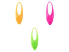 Ancol Soft Flashing Blinker LED Safety Collar Light Dog Puppy Green Pink Orange