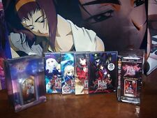 Fate Stay Night Vol 1,2,3,4,5,6 - Complete LE Box and Clock BRAND NEW Anime DVD