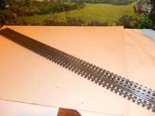 """VINTAGE WOODEN '6' RAIL TRACK SECTIONS - 36"""" LONG - USED- FAIR- W56"""