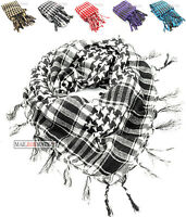 Black and White Arab Arafat Shemagh Keffiyeh Scarf Neck Wrap New Colours Instock