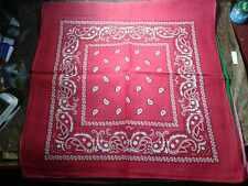 bandana fantasia cachimir COTONE mare 55x55 cm motociclisti  foulard cina
