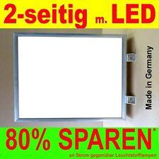 LED Leuchtreklame 2-seitig beleuchtet 600 x 900 x 138 mm Aussteller Lichtkasten