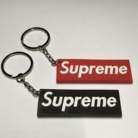 Supreme Keychain 2 Pack Red&Black
