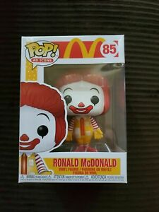 Funko Pop! AD Icons McDonalds Ronald Mcdonald #85 Rare Vinyl New In Box RARE NEW
