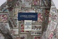 Cooke Street Honolulu Ctn Floral Pocket CAMP SHIRT XL Extra Large
