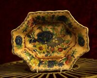 Masons Regency Patent Ironstone Multi Coloured Garden Patterned Bowl