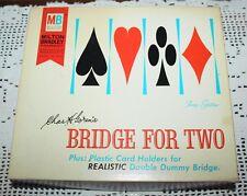 Vintage Goren's Bridge For Two Game - Milton Bradley 1964