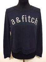 ABERCROMBIE & FITCH Maglia Felpa Donna Cotone Woman Sweatshirt Sz.XS - 38