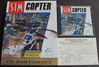 Sim Copter Vintage Big Box Pc, Computer Game Cd + Booklet