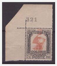 LIBIA 1931 - PITTORICA   Cent. 71/2  -  NUMERO DI TAVOLA