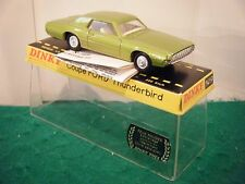 "French Dinky 1419 ""Ford Thunderbird Coupe"" - Green Metallic (Original 1960's)"